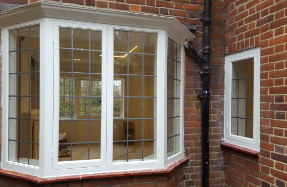 Casement window bay restoration (after)