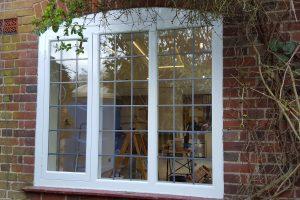 Lead casement window
