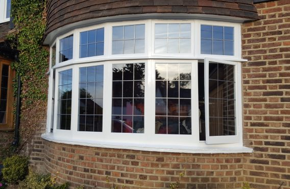 Restored Leaded Casement Window