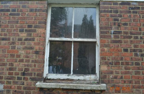 Box Sash Window ( before)
