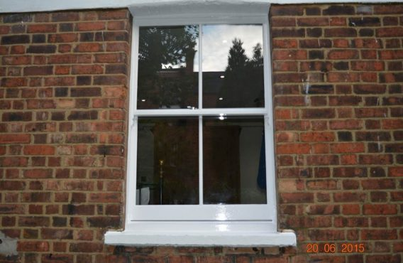 Box Sash Window (after)