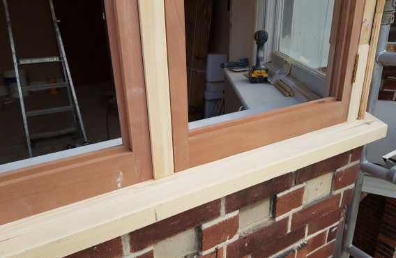 casement windows restoration (after)