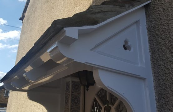 Canopy porch repair