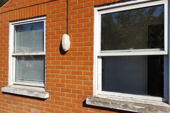 spring balanced sash window(before)
