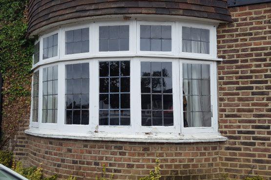 leaded casement window(before)