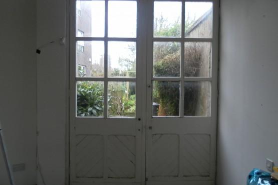 Wooden door replacement (before)