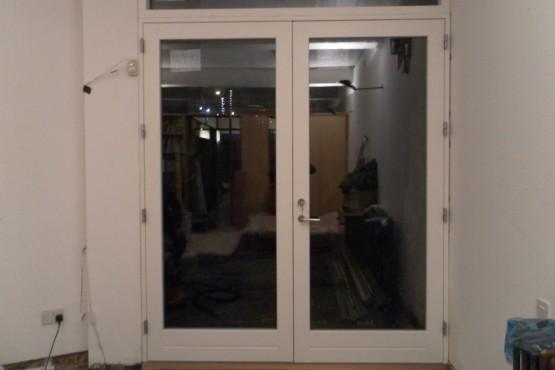 Wooden door replacement (after)