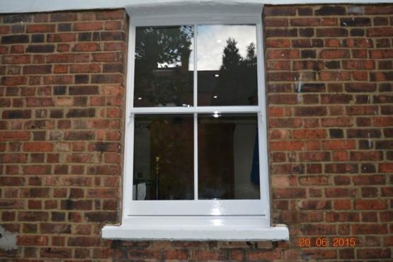 Box Sash Window (after)