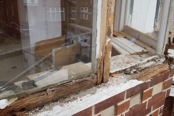 Casement Windows Restoration Before